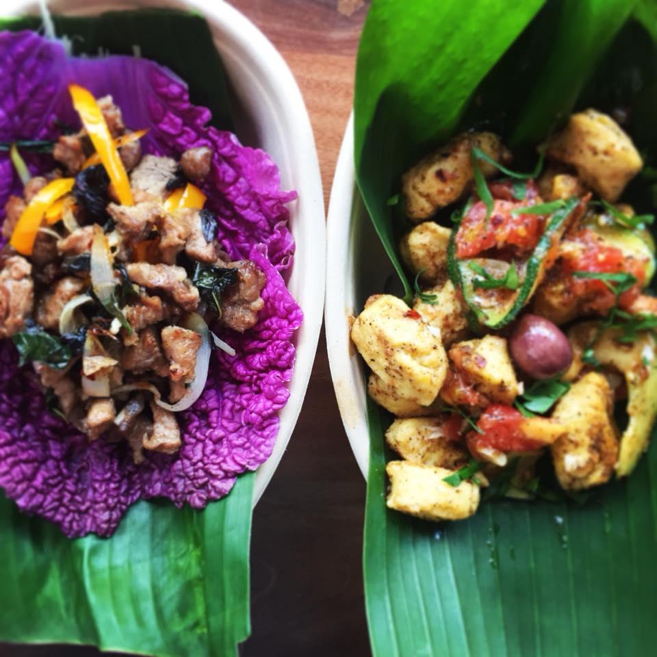 100% local food in Hawaii
